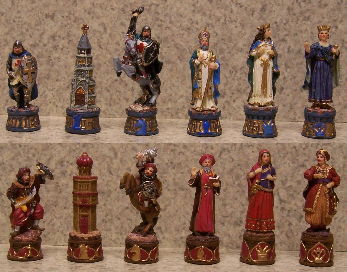 Related keywords suggestions for human chess pieces - The chessmen chess set ...