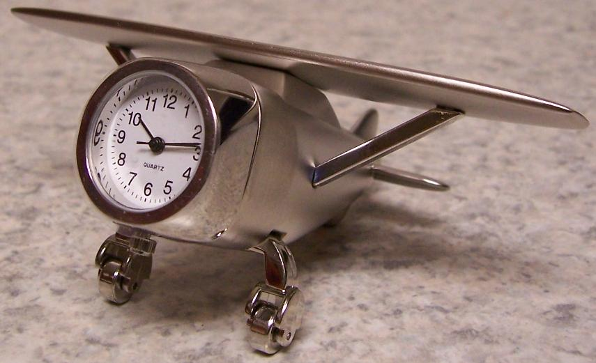 Jpg Airplane Desk Clock 61