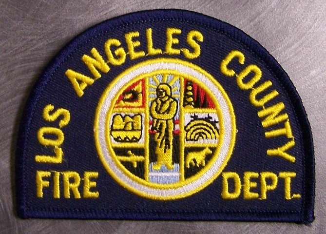 Los Angeles County Fire Department Patch 4045