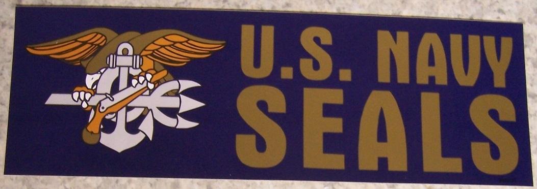U s navy seal bumper sticker bronze jpg