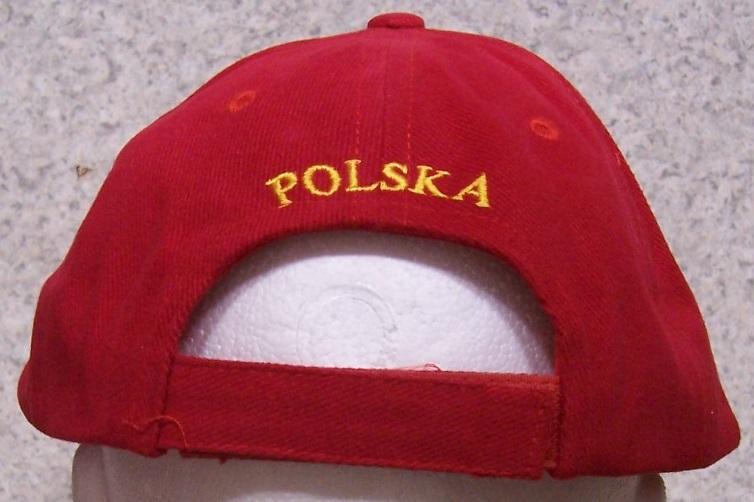 Polska Poland Eagle Red Embroidered Visor Hat Cap RUF
